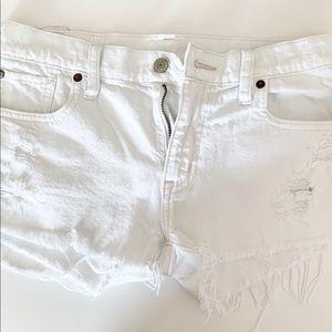Ralph Lauren Denim Supply | White Denim Shorts